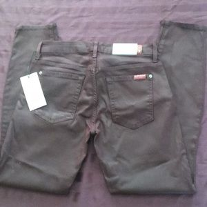7FAM Super skinny ankle jeans in plum, NWT, 28